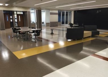 plancher epoxy commercial
