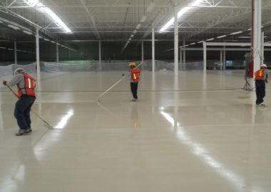 plancher epoxy industriel