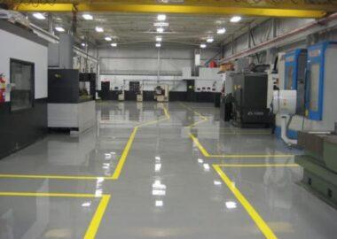 plancher industriel epoxy